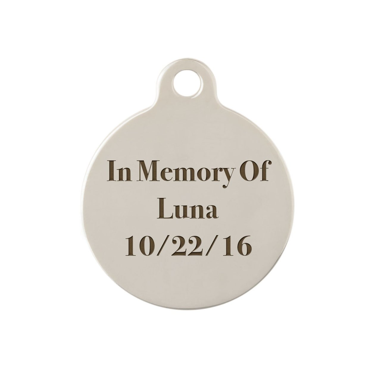 dogIDs Signature Memorial Dog Tag