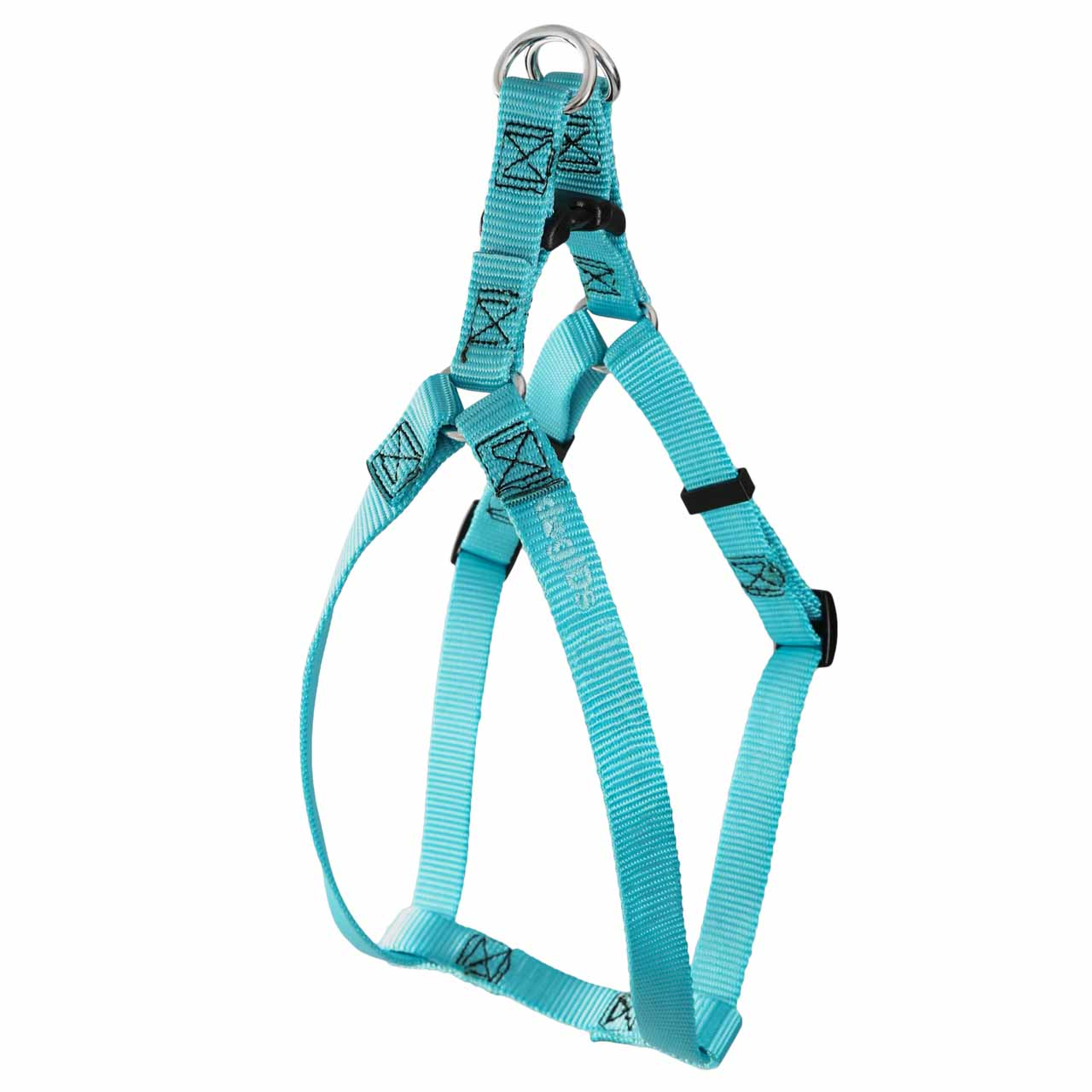 Step-In Nylon Dog Harness with Personalized Buckle | dogIDs