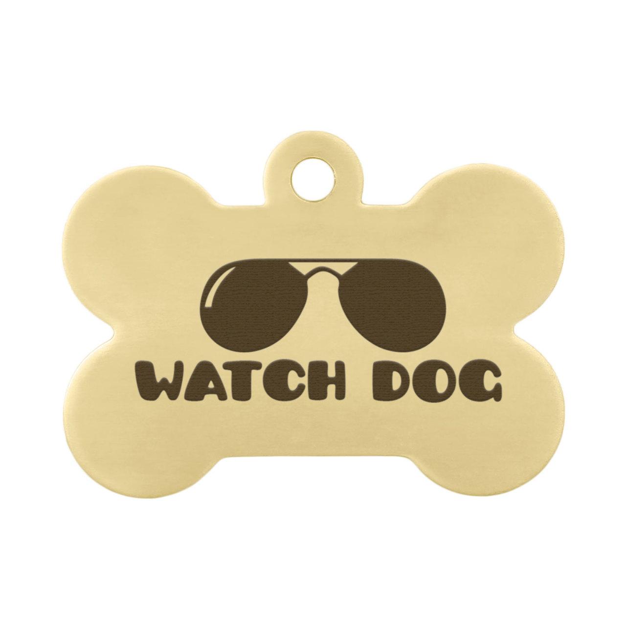 Watch Dog Pet ID Tag