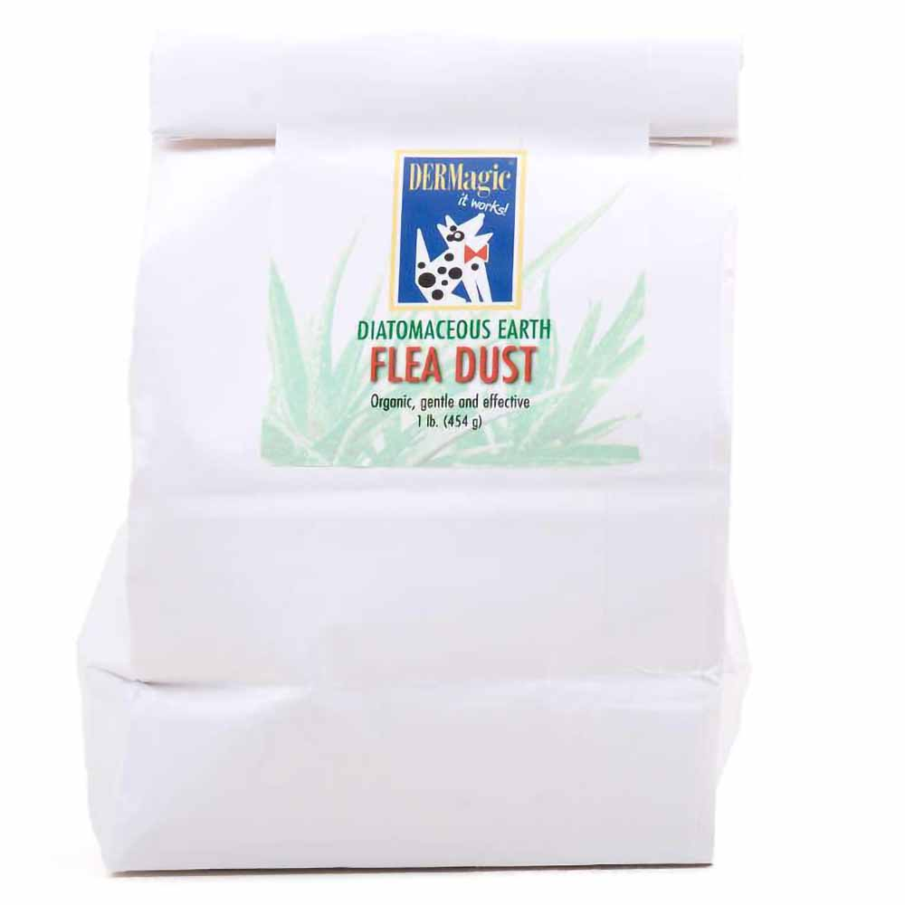 DERMagic Diatomaceous Earth Flea Dust 1 lb