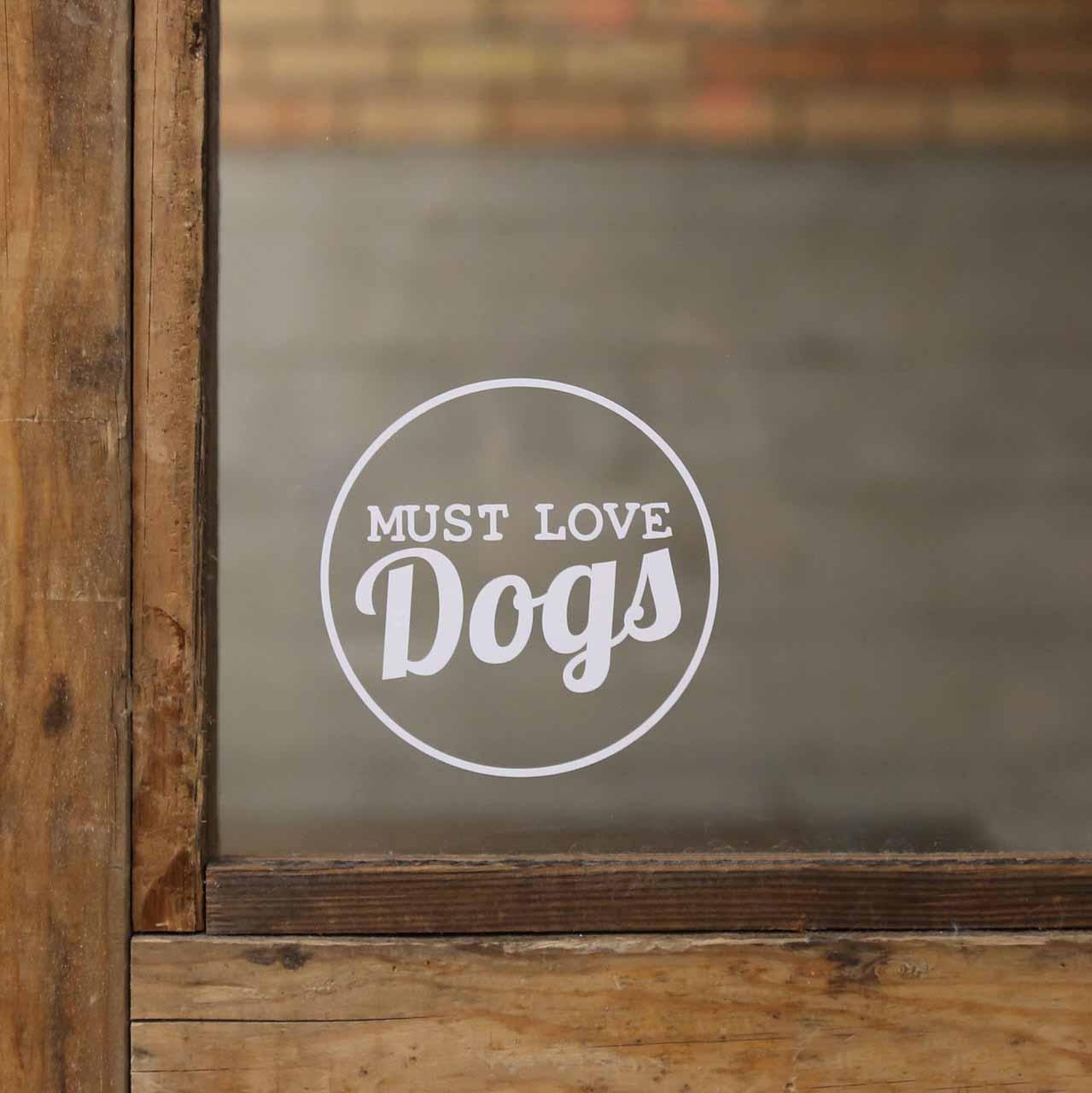 Signature Dog Lover Decals