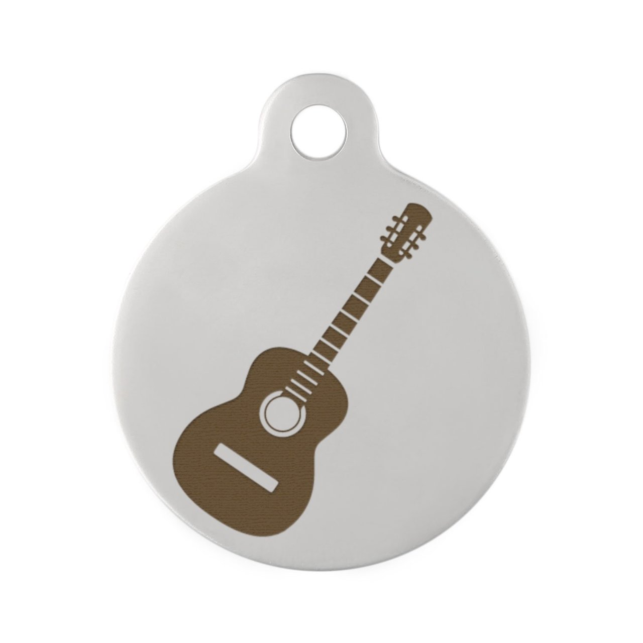 Acoustic Guitar on Stainless Steel