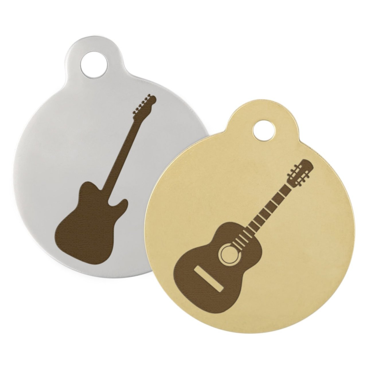 Guitar Dog ID Tag