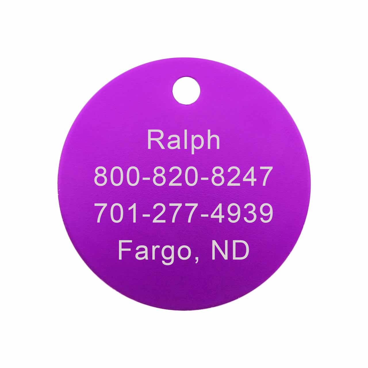 Therapy Dog Tag - Back Engraving