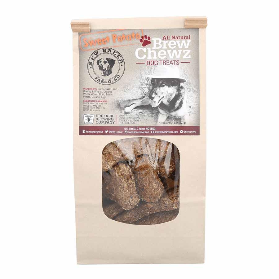 Brew Chewz All Natural Sweet Potato Dog Bone Treats