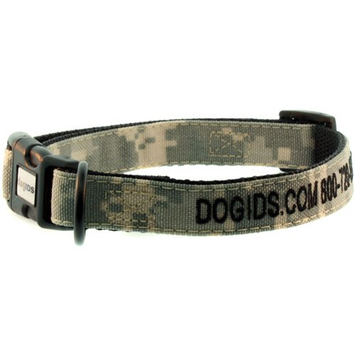 Embroidered Digital Camo Dog Collar