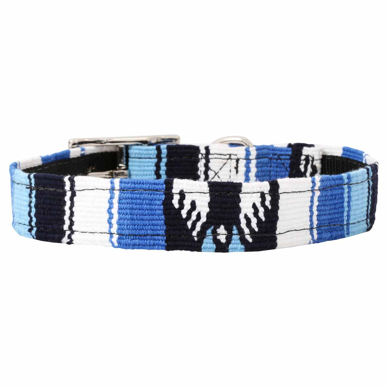 MAYA Buckle Dog Collar - Ocean