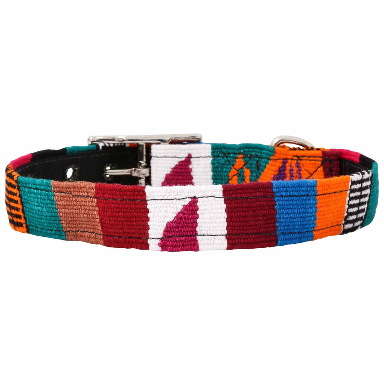 MAYA Buckle Dog Collar - Multi 1