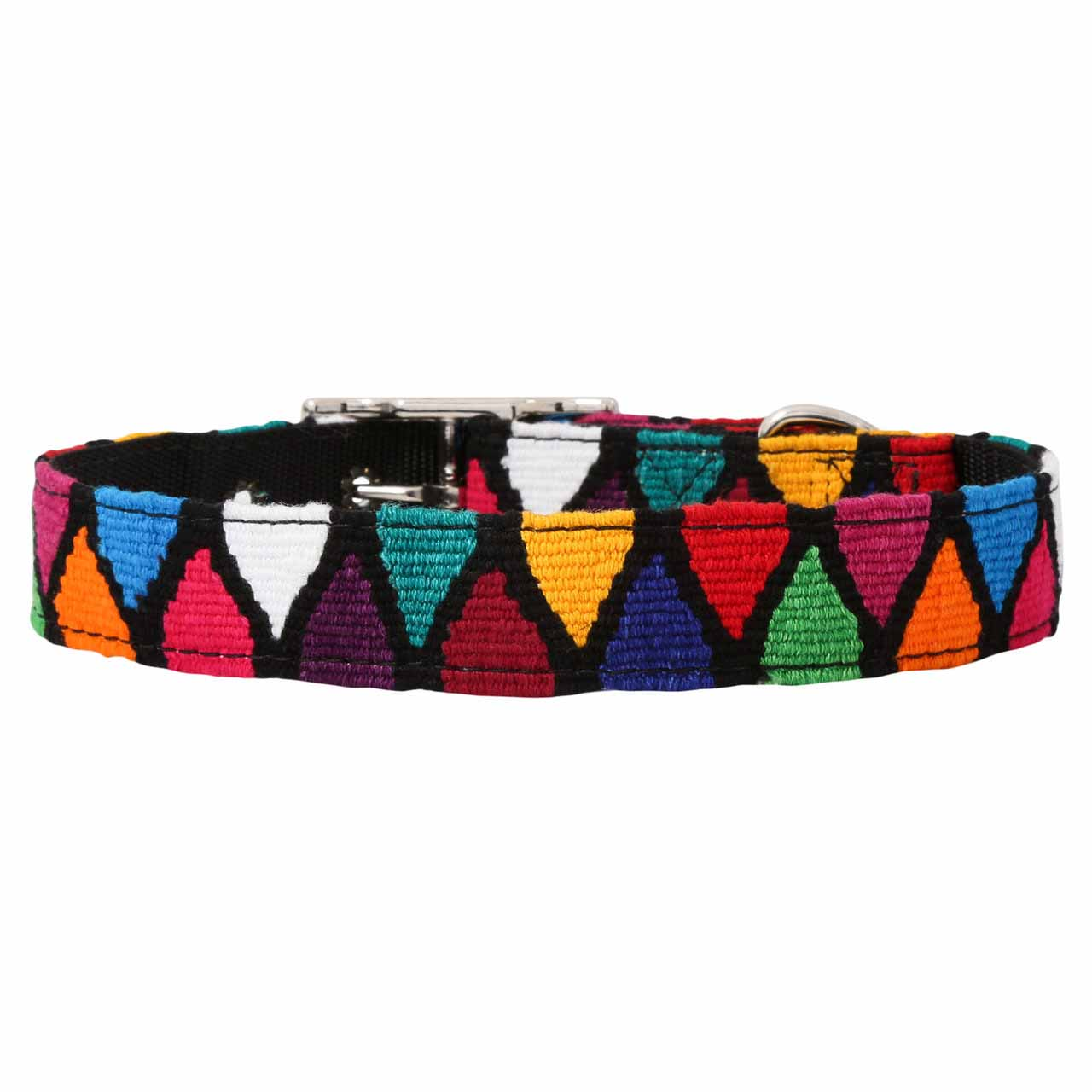 MAYA Buckle Dog Collar - Diamonds