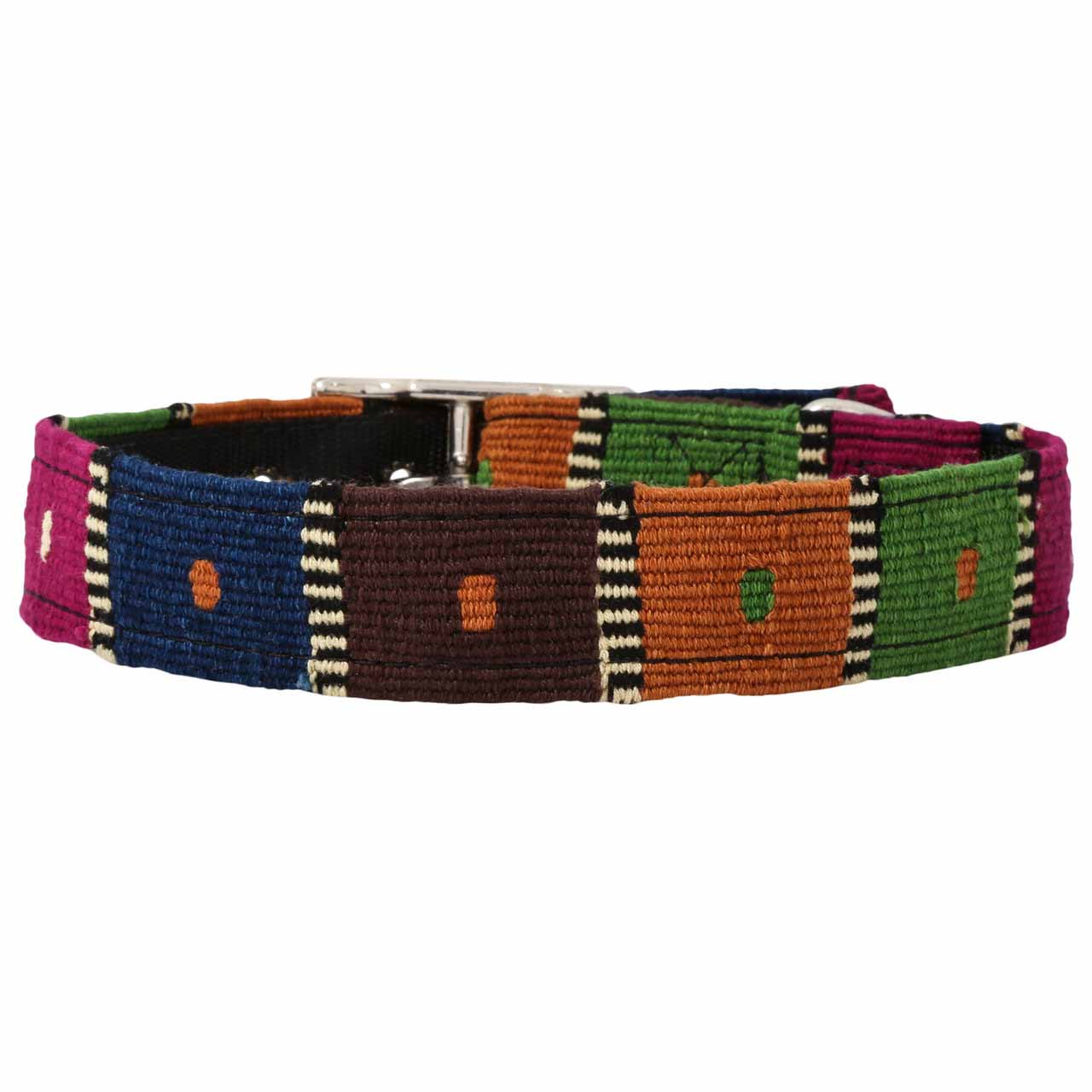 MAYA Buckle Dog Collar - Checkers