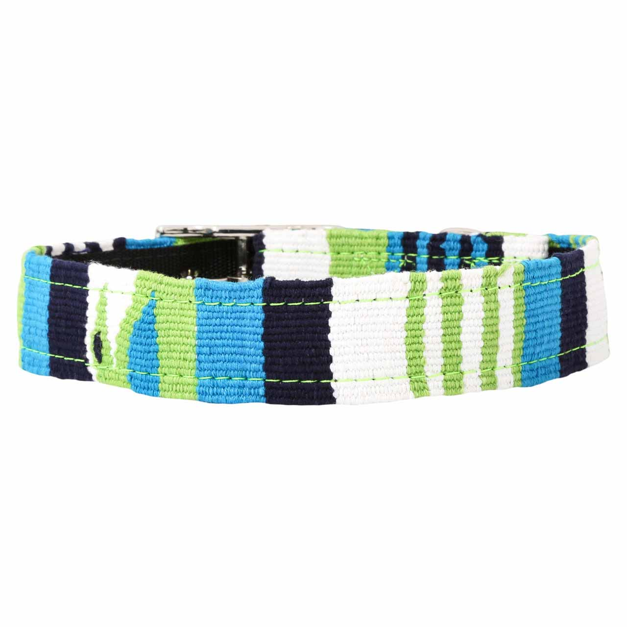 MAYA Buckle Dog Collar - Atlantic