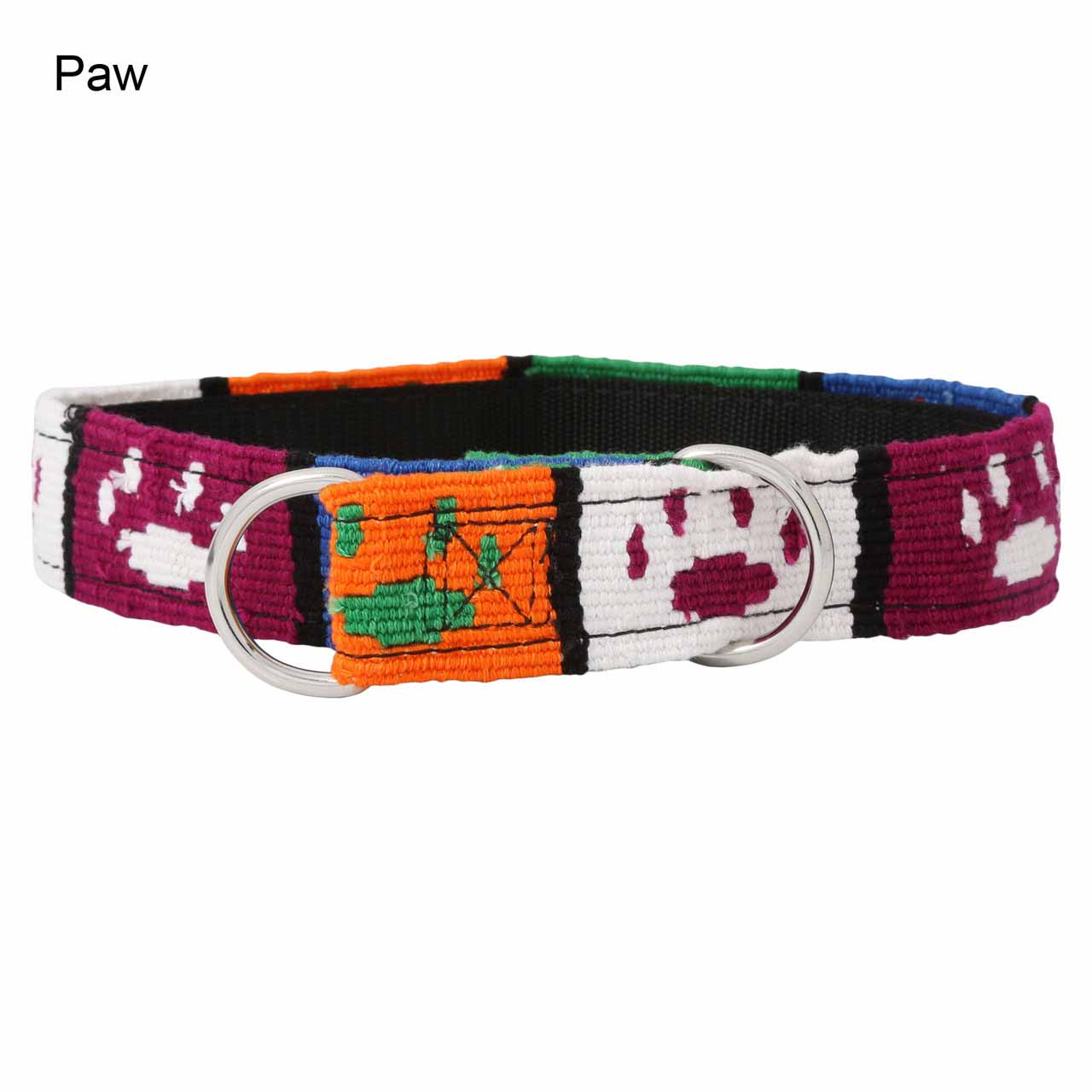 MAYA Slip Collar - Paw Prints