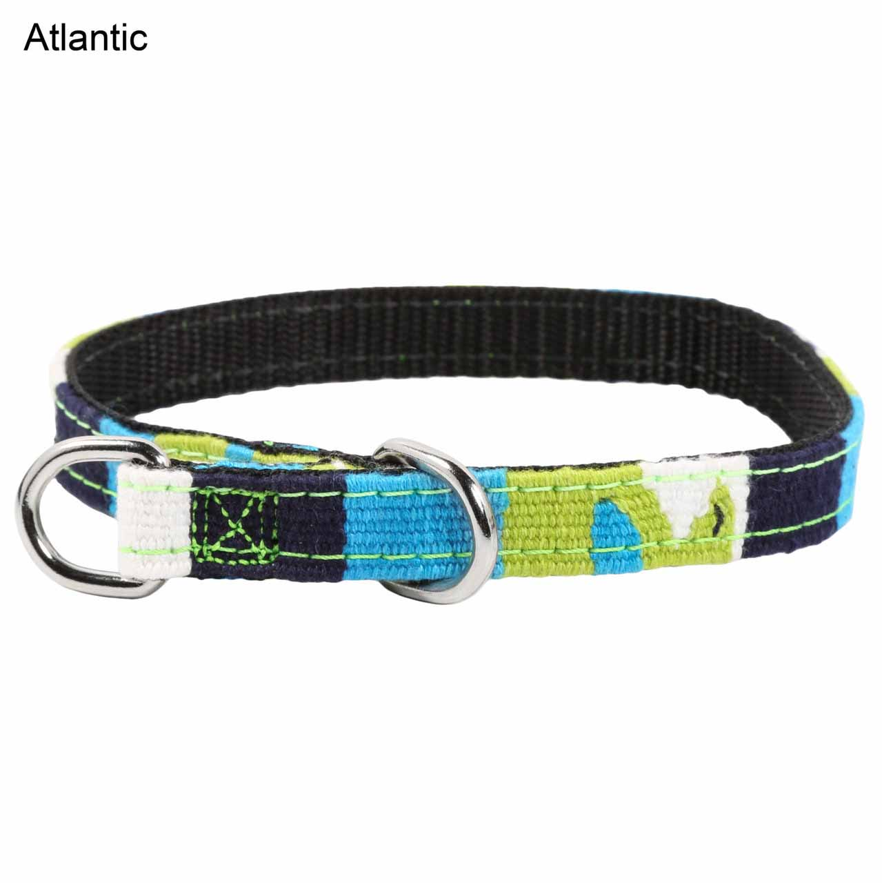 MAYA Small Slip Collar for Puppies & Small Dogs - Atlantic