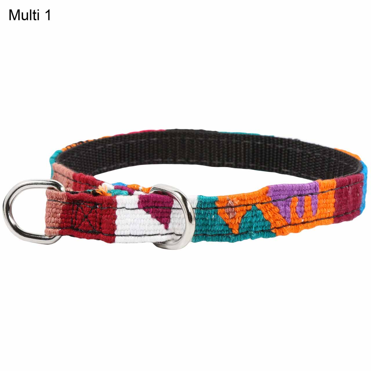 MAYA Small Slip Collar for Puppies & Small Dogs - Multi 1