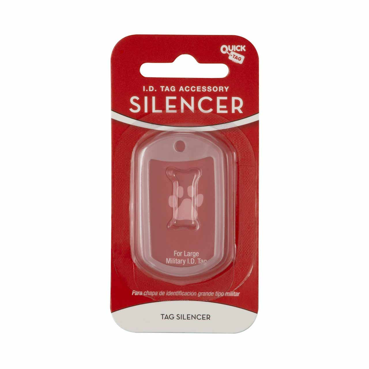 Glow in the Dark Pet Tag Silencer Military Dog Tag