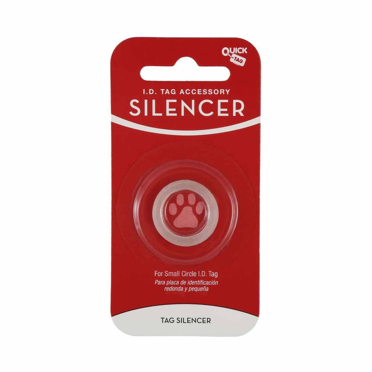 Glow in the Dark Pet Tag Silencer Round Small