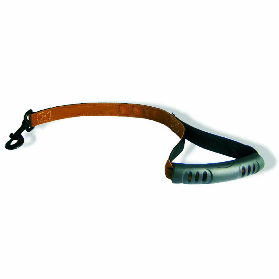 Canvas Personalized Dog Leash Handle View