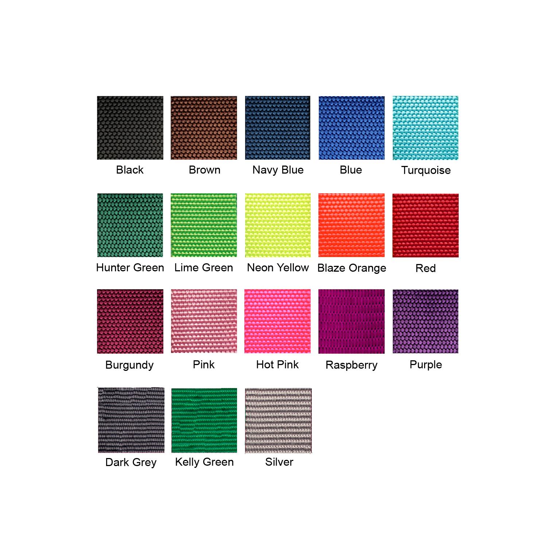 nylon swatch colors