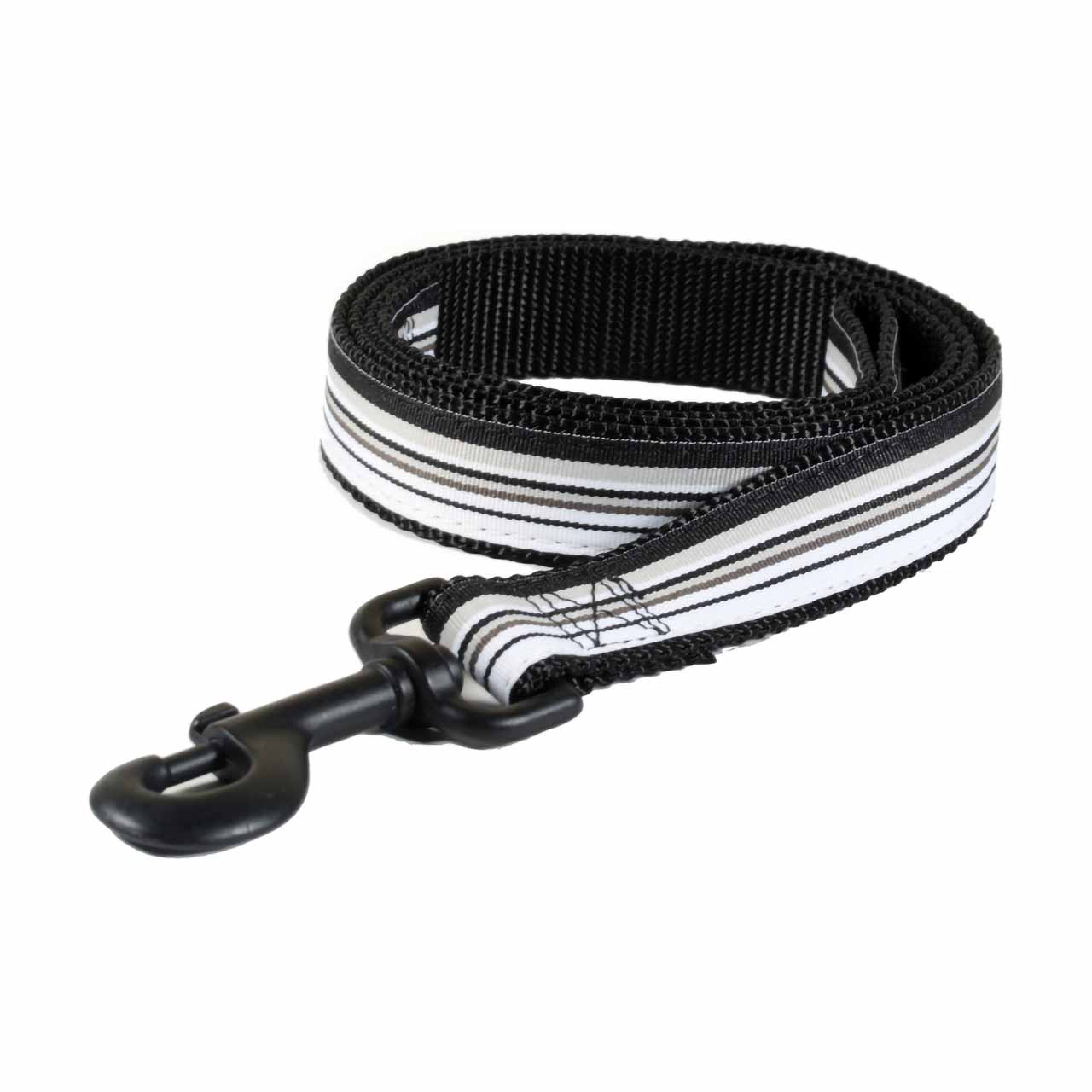Personalized Striped Dog Leash