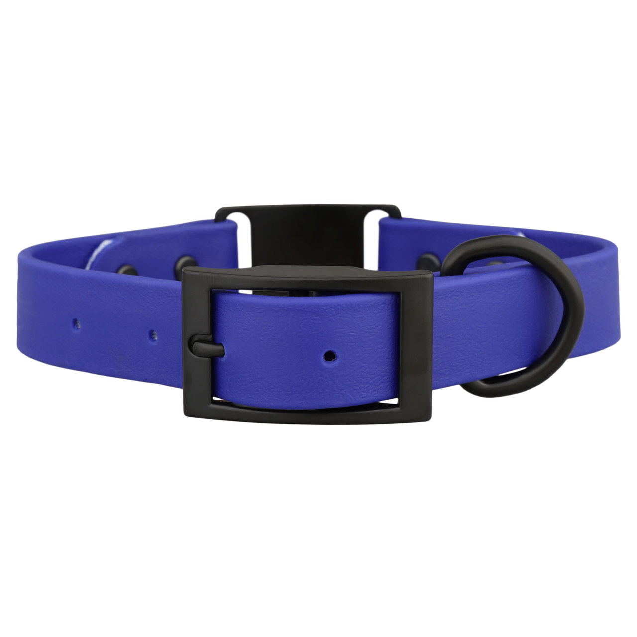 Stealth Waterproof ScruffTag Dog Collar Blue Buckle View