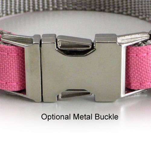 Embroidered Reflective Dog Collar