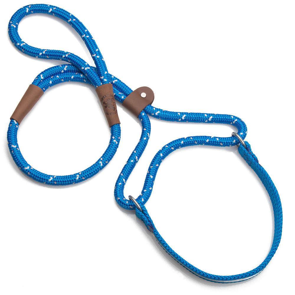 Mendota Dog Walker Martingale Leash Blue
