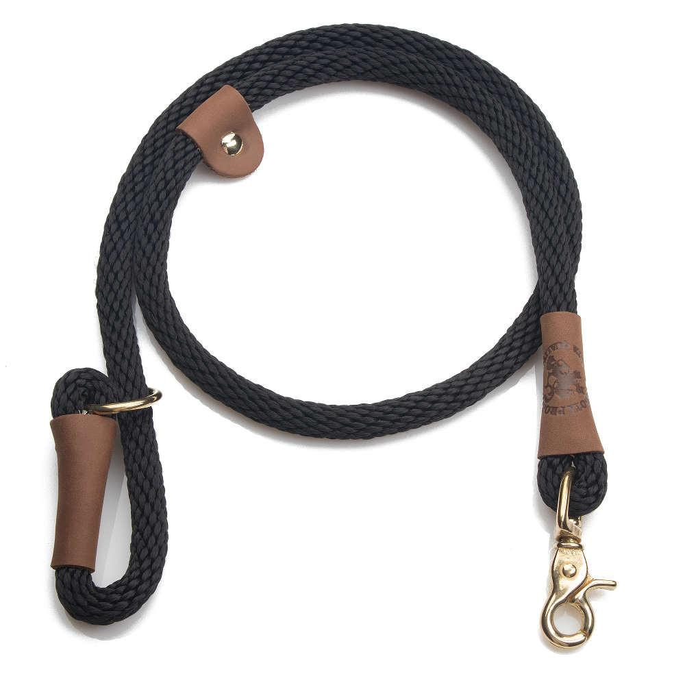 Mendota Braided Quick Lead Black
