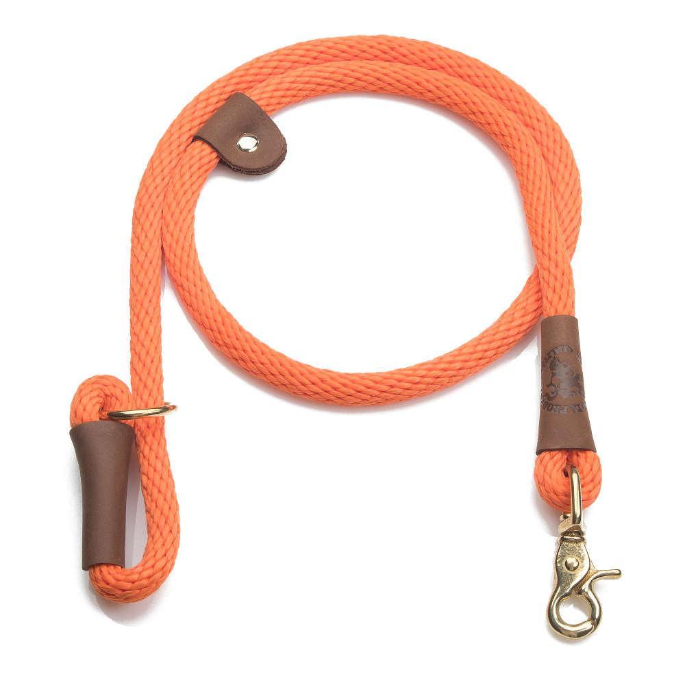 Mendota Braided Quick Lead Orange