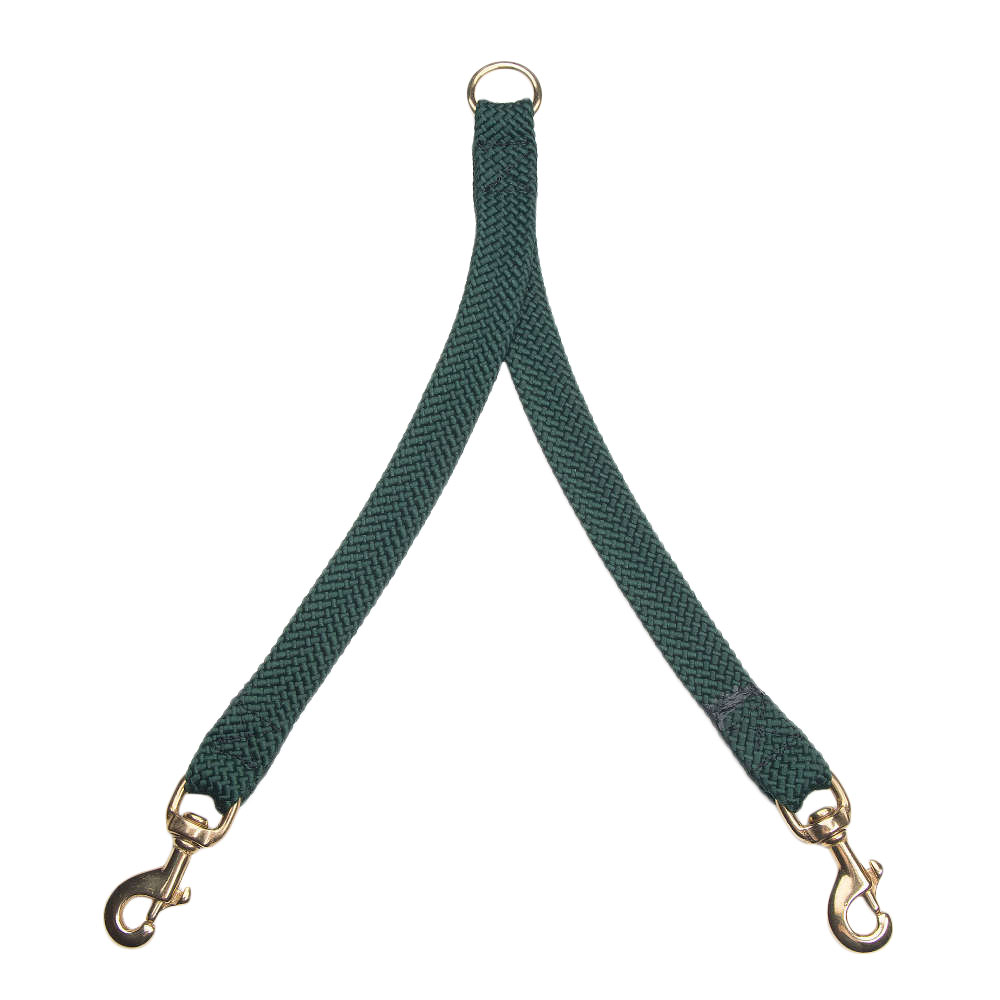 Mendota Double Braid Coupler Hunter Green
