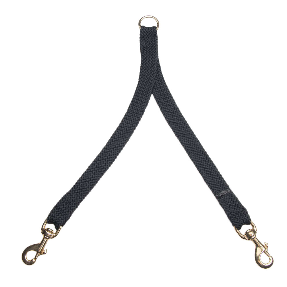 Mendota Double Braid Coupler Black