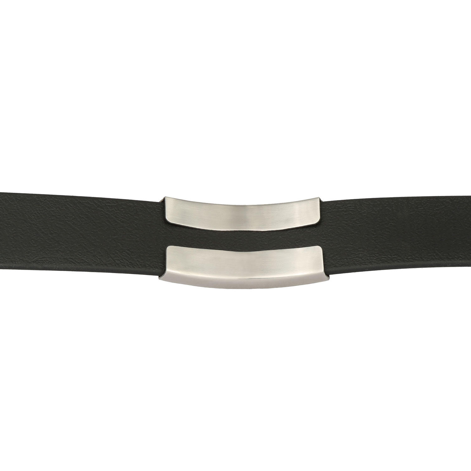 SleeveTag Name Plate with Silicone Strap Large Back on Collar