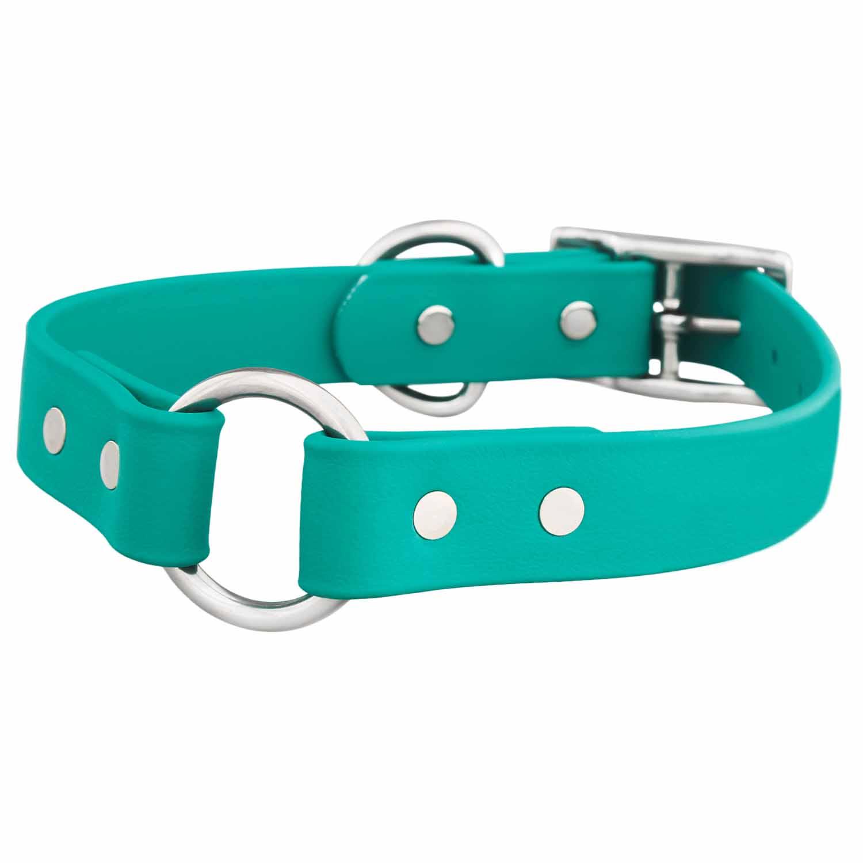 Waterproof Safety Dog Collar - Teal