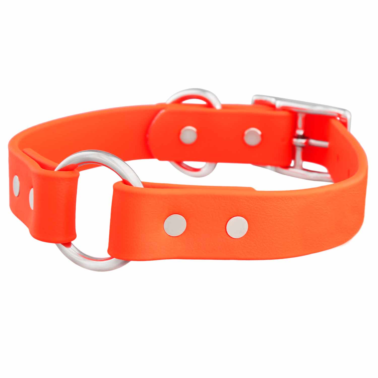Waterproof Safety Dog Collar - Orange
