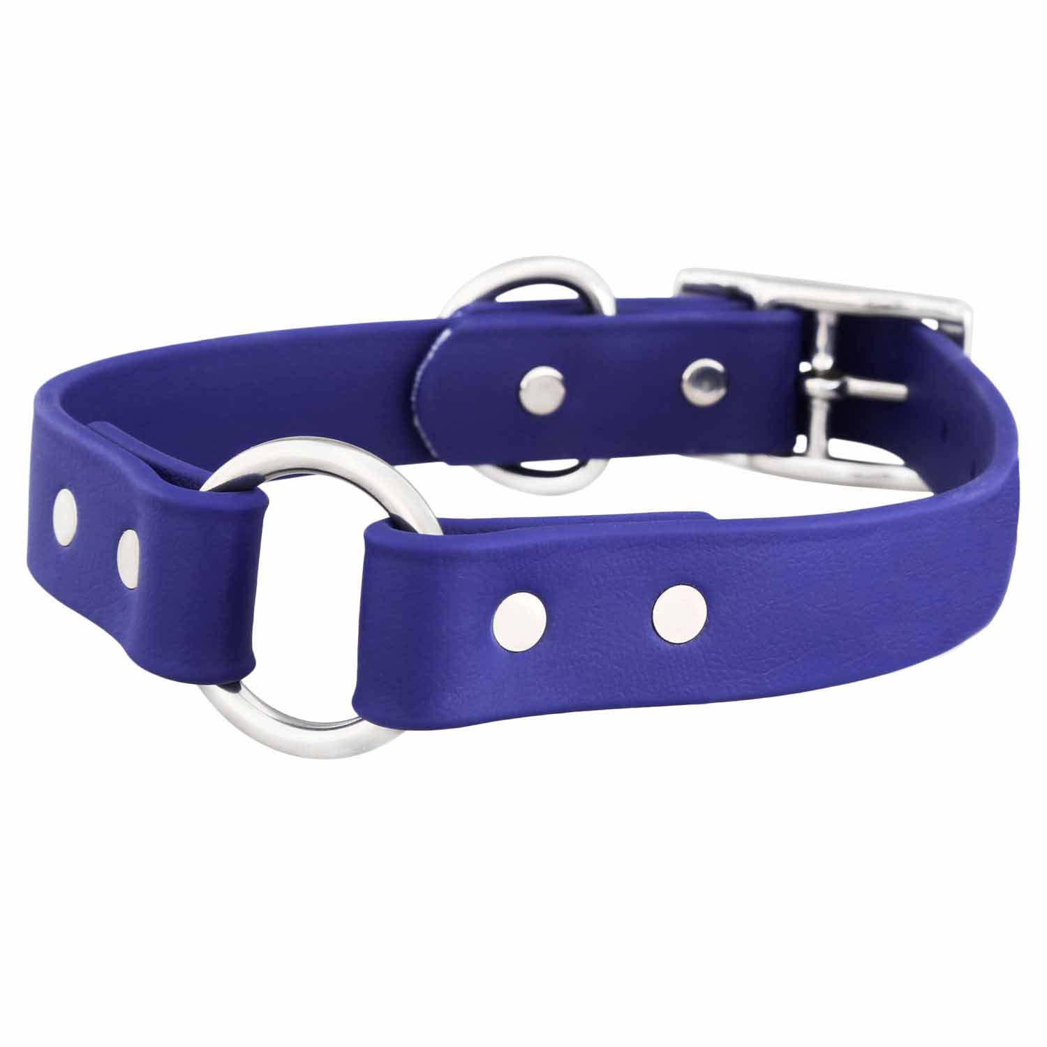 Waterproof Safety Dog Collar - Blue