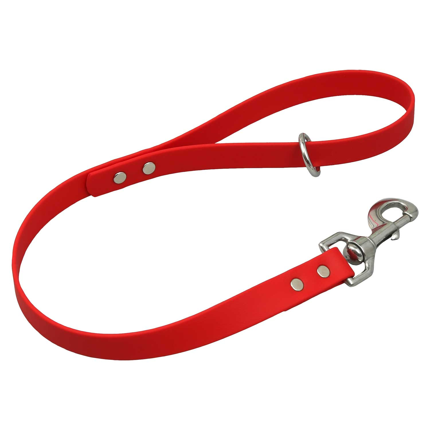 Waterproof Traffic Leash - Red