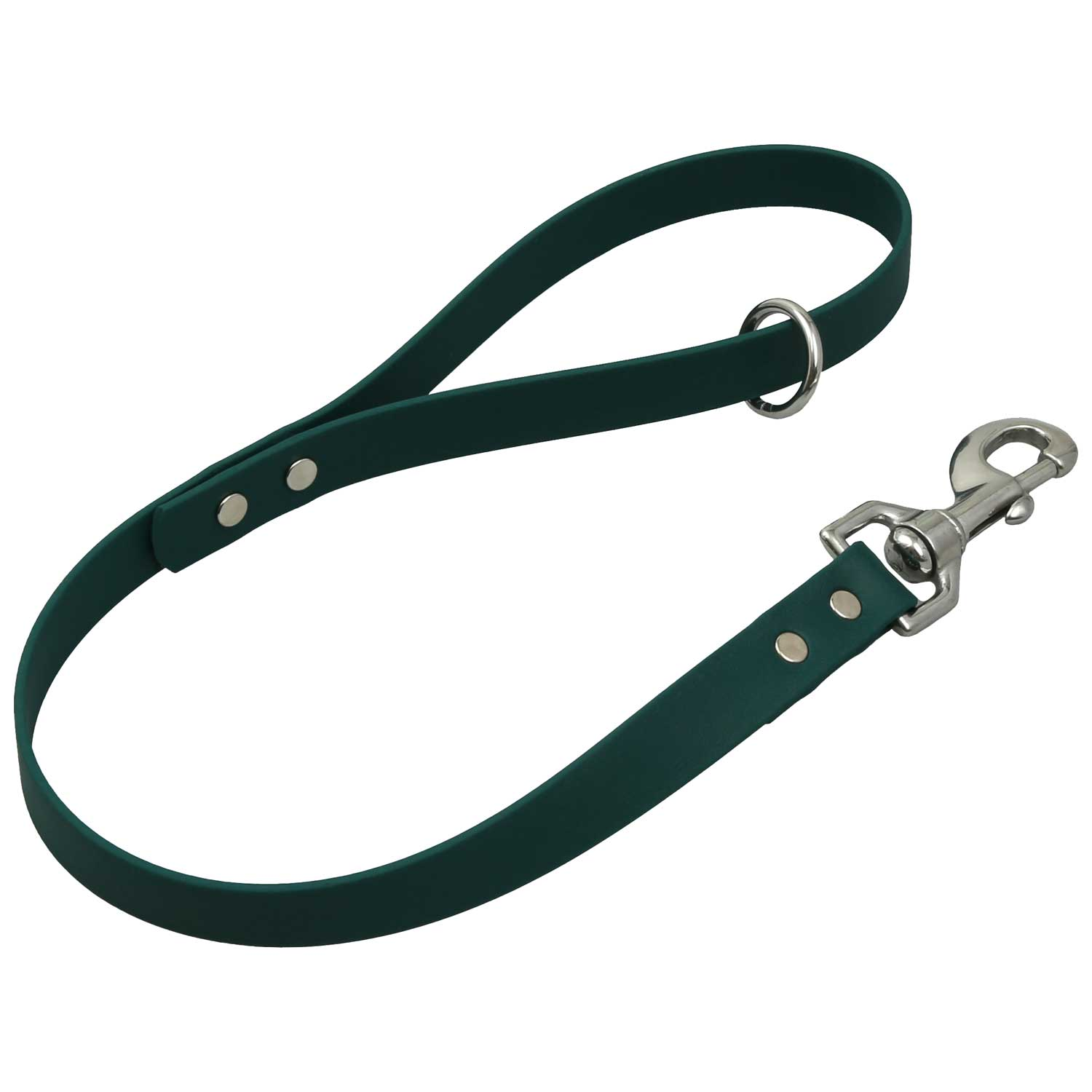 Waterproof Traffic Leash - Hunter Green