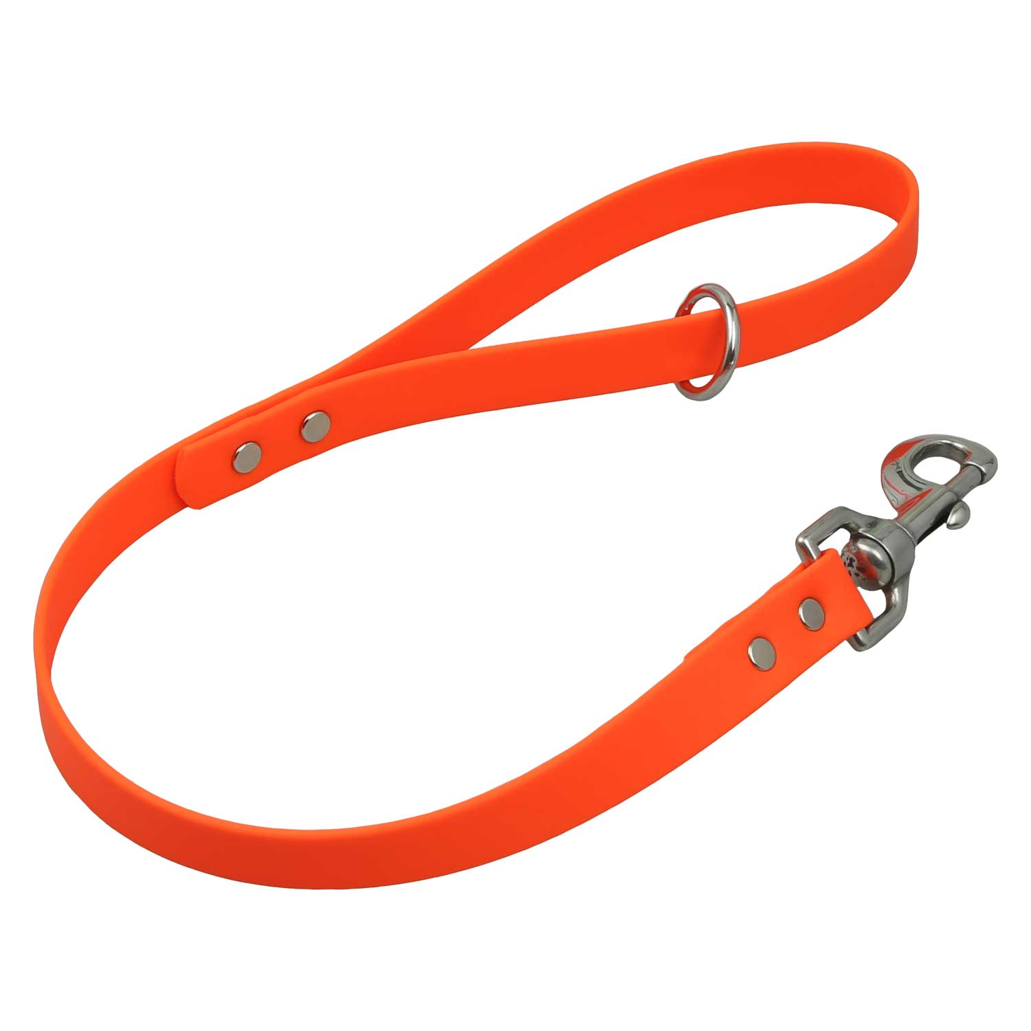 Waterproof Traffic Leash - Orange