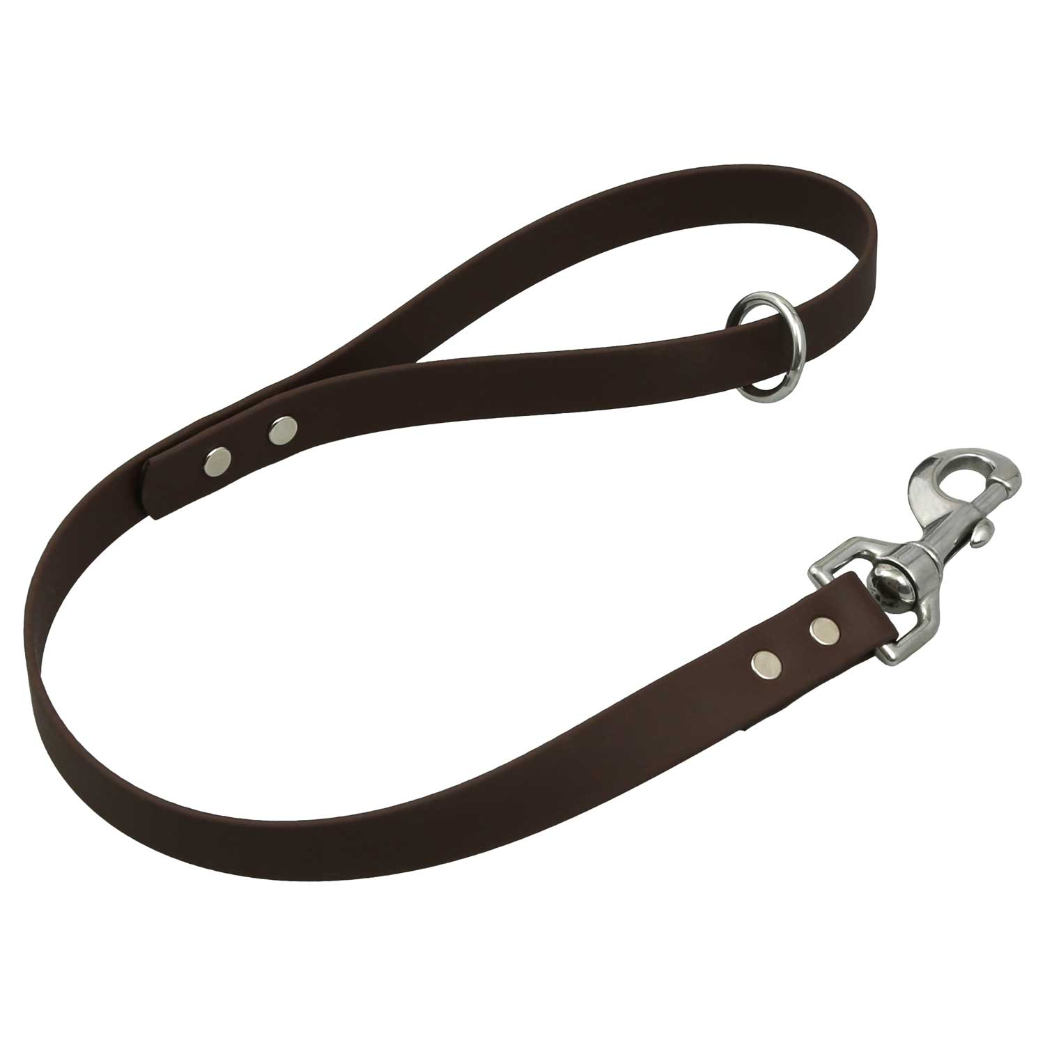 Waterproof Traffic Leash - Brown