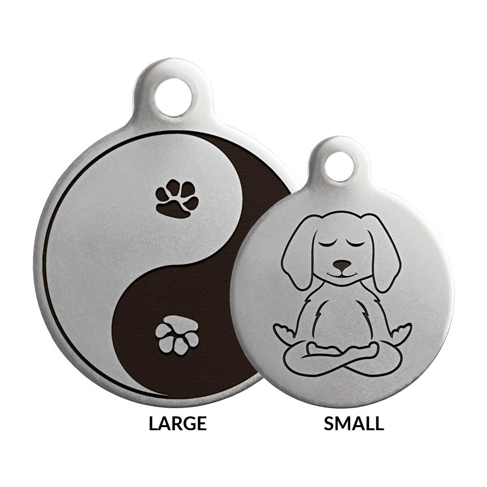 Awaken Dog ID Tag Sizes