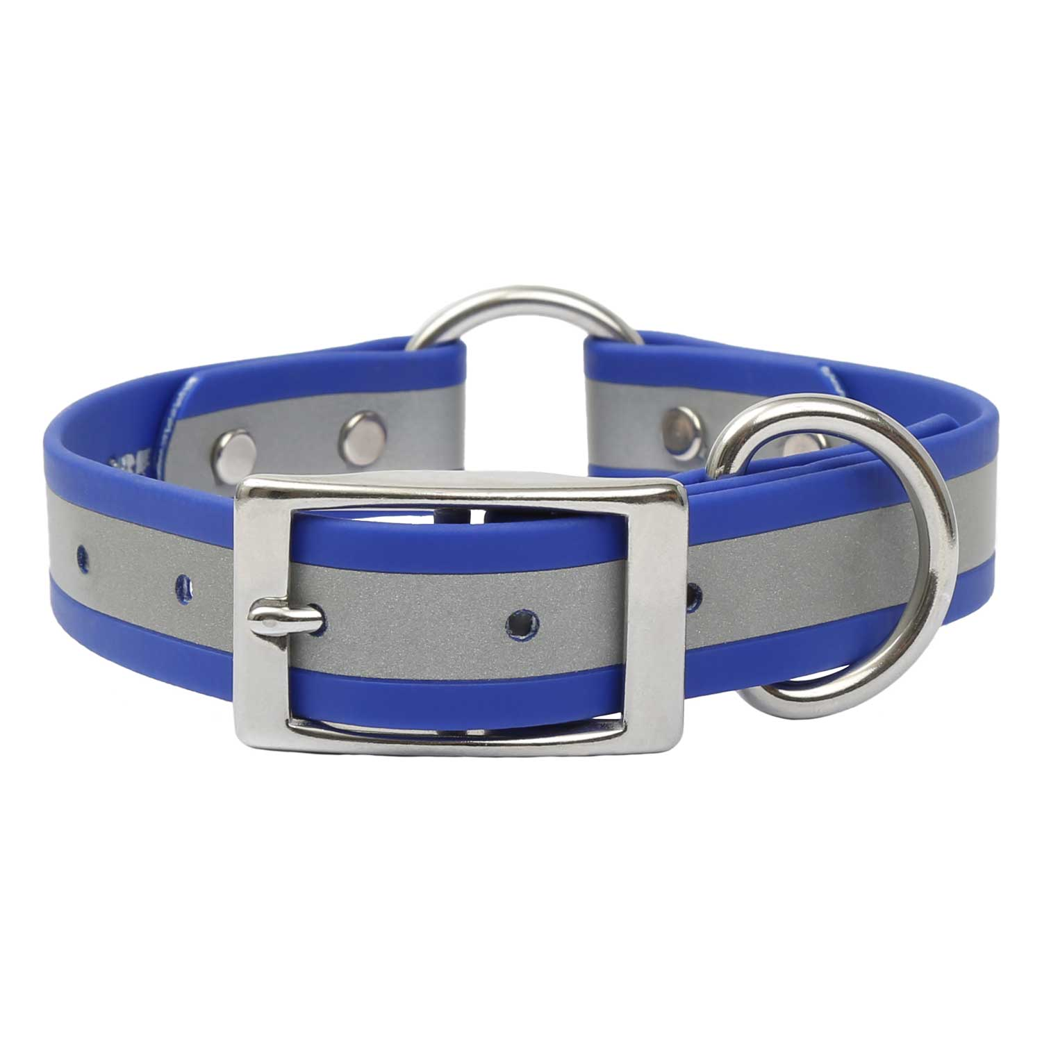 Reflective Waterproof Safety Collar - Blue