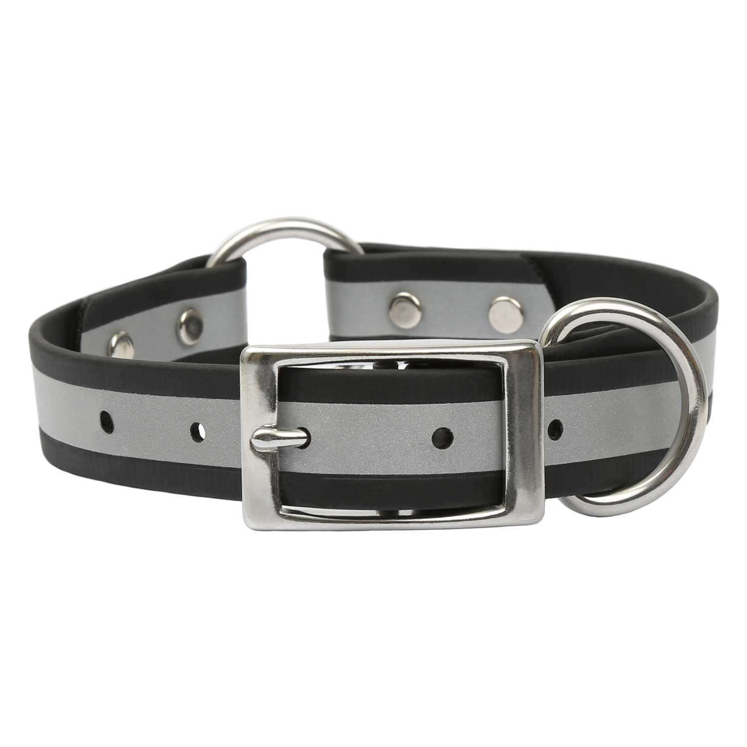 Reflective Waterproof Safety Collar - Black