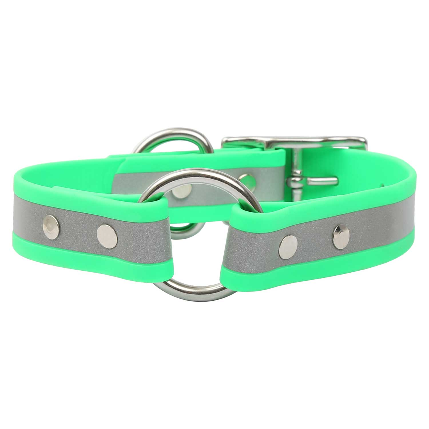 Reflective Waterproof Safety Collar - Front View
