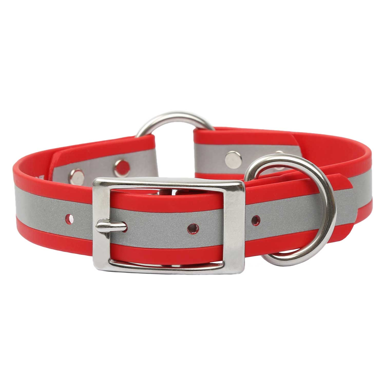 Reflective Waterproof Safety Collar - Red