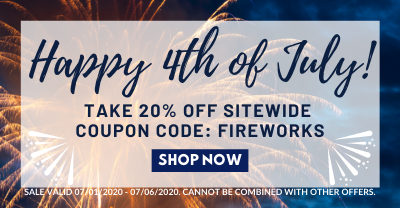 20% off with code FIREWORKS