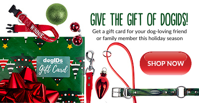 Purchase a dogIDs gift card for the holidays