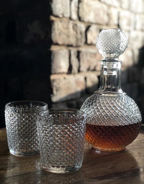 Ophelia Decanter and Glass Set