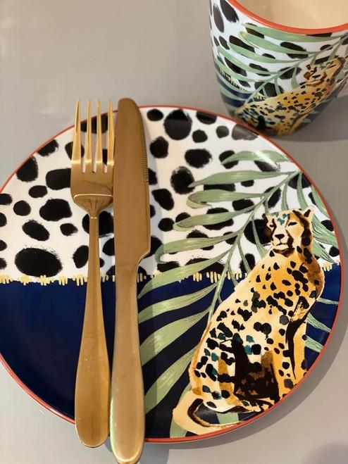 Cheetah Side Plate (pack of 2)