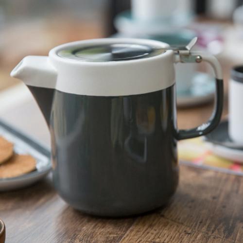 La Cafetiere Barcelona Grey Four Cup 1.2l Teapot
