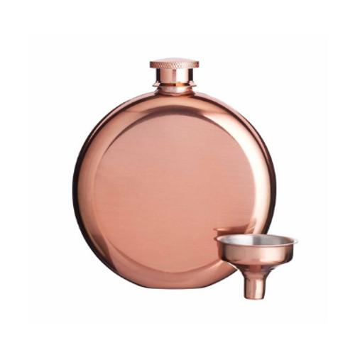 Copper Finish 140ml Hip Flask