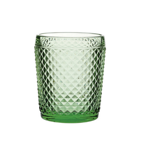 Ophelia Emerald Double Old Fashioned (pack of 2)